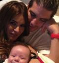 Galilea Montijo y familia