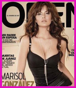 Marisol González en Revista Open