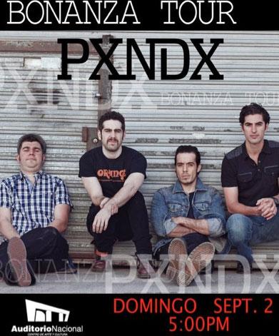 Pxndx en Auditorio Nacional 2 de septiembre