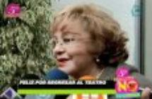 Silvia Pinal confirma relación de Alejandra Guzmán