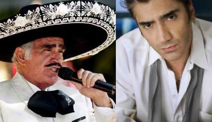 Vicente Fernández grabará nuevo disco con su hijo Alejandro Fernández