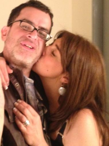 Cynthia Klitbo encontró nuevamente el amor