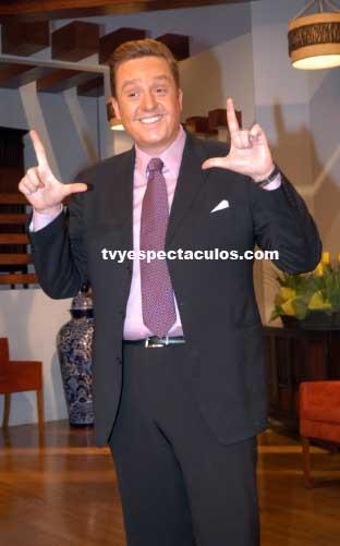 Daniel Bisogno alista programa nocturno con Raquel Bigorra