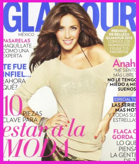 Anahí en Revista Glamour