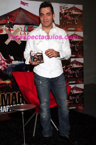 Omar Chaparro presentó su disco El Gori Gori