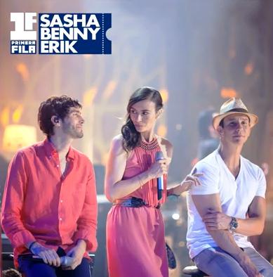 Cada Beso de Sasha, Erik y Benny