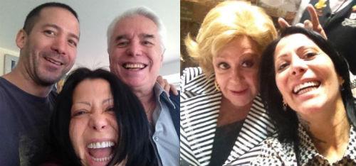 Alejandra Guzmán se muestra feliz con su familia en Twitter
