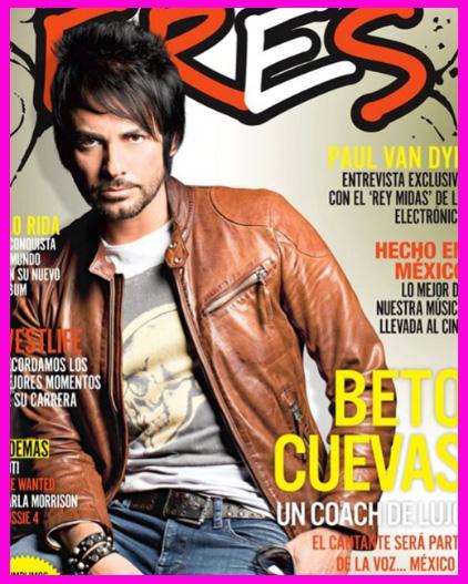 Beto Cuevas en Revista ERES