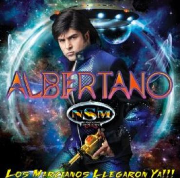 Albertano lanza su disco Los Marcianos llegaron ya