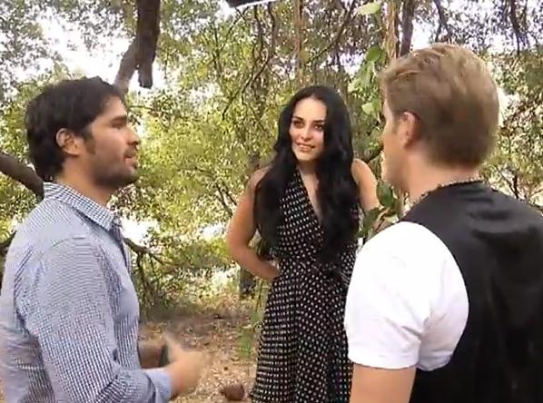 Alexander Acha y Zuria Vega graban el video de Amor Sincero bajo la dirección de Eduardo Verastegui