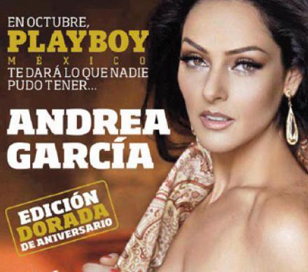 Andrea García en Playboy octubre 2012
