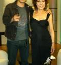 Cristina Pacheco con Gael García