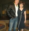 Cristina Pacheco con Emmanuel
