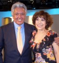 Cristina Pacheco con Alberto Vázquez