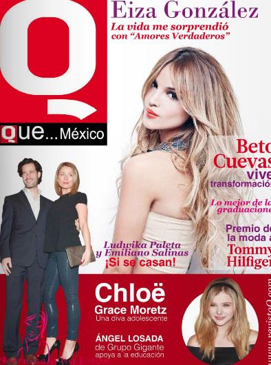 Eiza González en la Revista Q Que… México