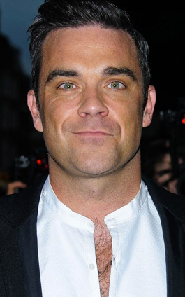 Robbie Williams papá de una niña