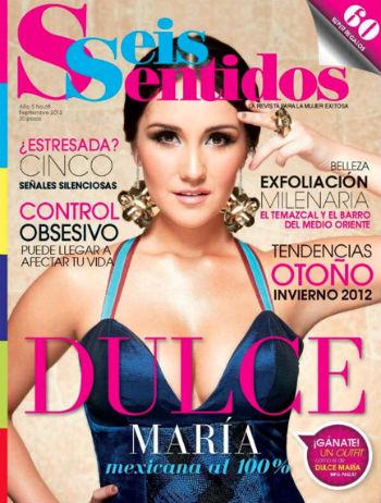 Dulce María en Revista Seis Sentidos
