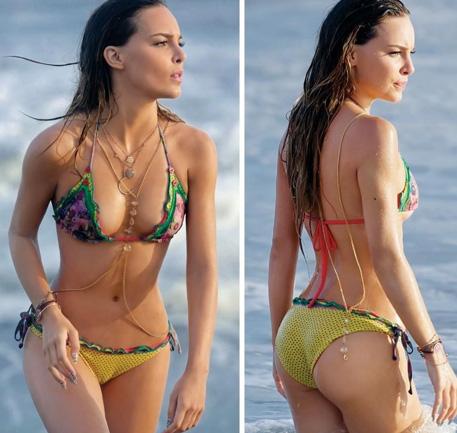Belinda se presume en bikini