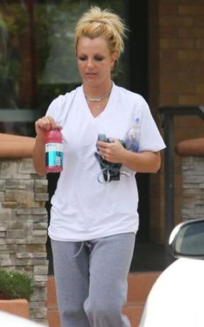 Britney Spears captada mojada de su pantalón