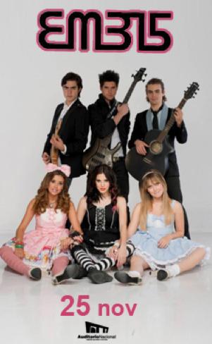 EME15 en Auditorio Nacional 25 de noviembre