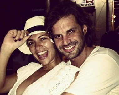 Mark Tacher y Cecilia Galiano