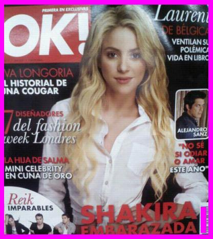 Shakira en Revista OK!