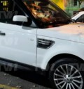 Camioneta que intentaron robar a Cristian Zuarez