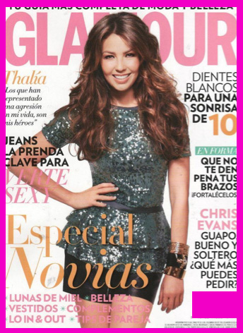 Thalía en Revista Glamour