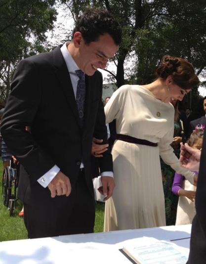 Se casó Cynthia Klitbo
