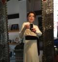 Cynthia Klitbo vestido de novia