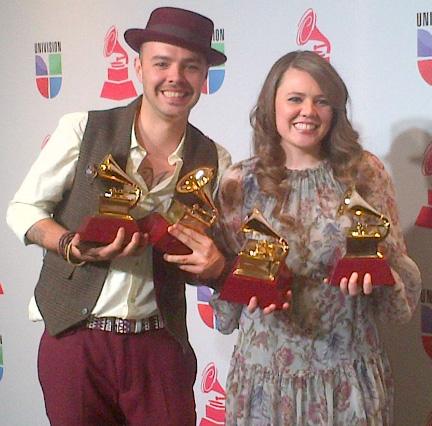 Ganadores Grammy Latino 2012
