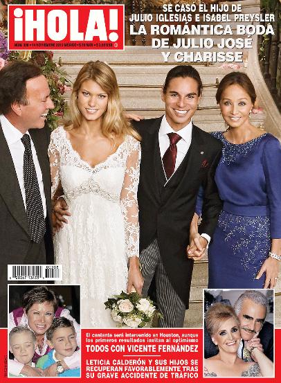 La boda del hijo de Julio Iglesias en Revista ¡HOLA!