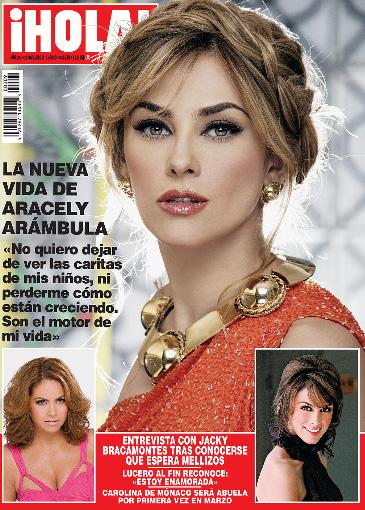 Aracely Arámbula habla de su nueva vida en Revista ¡HOLA!
