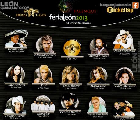 Cartel Feria de León 2013