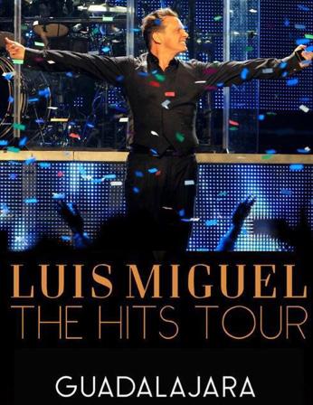Luis Miguel en Guadalajara 21, 22 y 23 de febrero