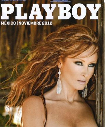 Marisol Santacruz en Revista Playboy