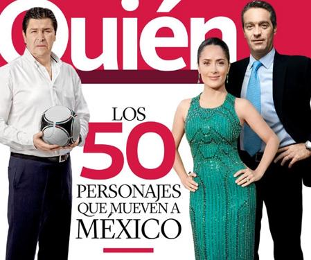 Quién reconoce a las 50 personalidades que mueven a México