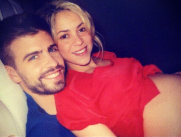 Shakira presume su embarazo