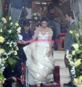 Maite Perroni vestida de Novia