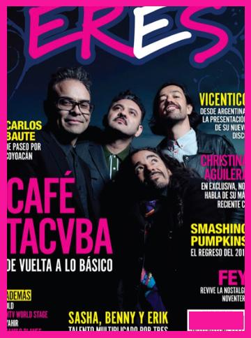 Café Tacvba en Revista ERES
