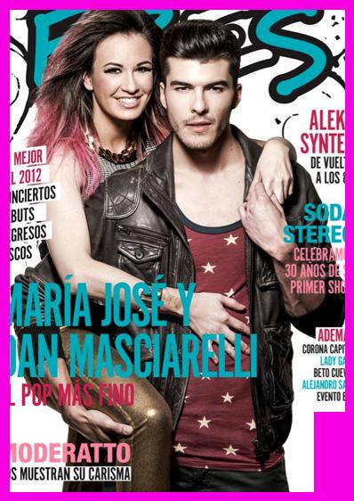 María José y Dan Masciarelli en Revista Eres