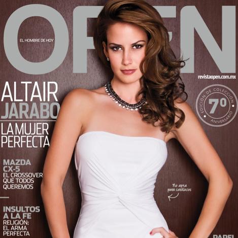 Altair Jarabo en Revista Open