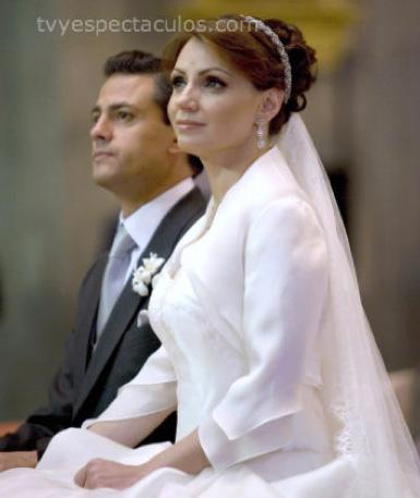 Consideran a Angélica Rivera la Primera Dama  más bella del mundo