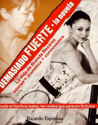 Brenda Bezares lanza libro Demasiado Fuerte