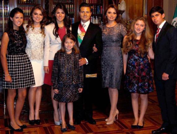 Famosos en la toma de protesta de Enrique Peña Nieto