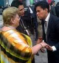 Paquita la del barrio en toma de protesta de Enrique Peña Nieto