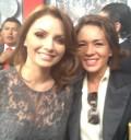 Yolanda Andrade y Angélica rivera en toma de protesta de Enrique Peña Nieto