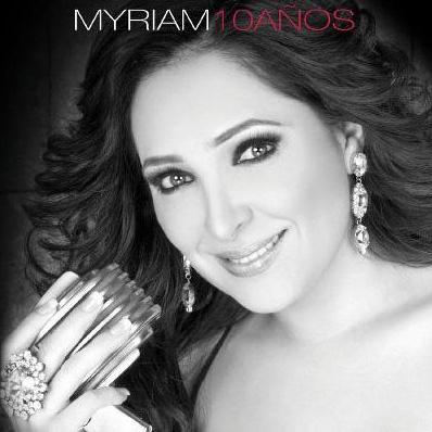 Hoy a la venta disco de 10 años de Myriam