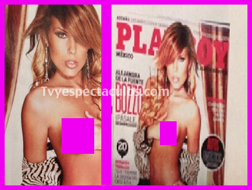 Alejandra de la Fuente en Playboy febrero 2013