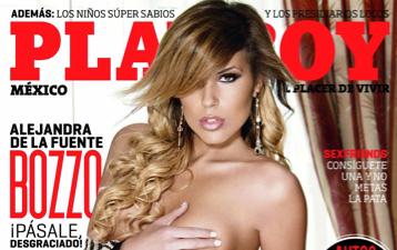 Fotos de la hija de Laura Bozzo en Playboy
